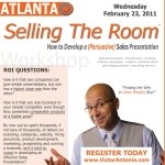 selling the room sales training program out of atlanta georgia