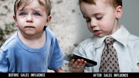 Rich Poor Before and After Sales Training - Contrast Principle