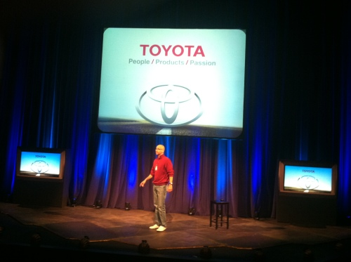 toyota corporation sales motivational keynote by victor-antonio